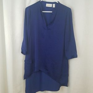 Chico's High Low Hem Blouse Size S